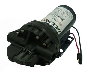 Picture of Delavan Extreme Duty Geolast® Diaphragm Pump 12V, 45PSI, 5.0GPM, DEM
