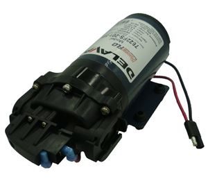 "Picture of Delavan Diaphragm Flex Pump 12 V, 60 PSI, 2.2 GPM, 3/4"" QA Ports"