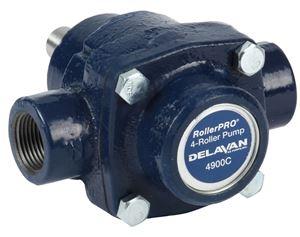 "Picture of 4 Roller Pump - Delavan, 150 PSI, 9.2 GPM, CI, CW, 5/8"""