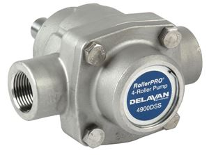 Picture of 4 Roller Pump - Delavan, 150 PSI, 9.2 GPM, DSS, CW, 1/2""