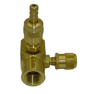 Picture of Upstream or Downstream Chemical Injector with Metering Valve