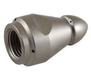 """Picture of Suttner ST-49 """"Root Ram"""" Sewer Nozzle 1/4"""", # 5.5, 1 Front, 3 + 3 Back 7,252 PSI"""