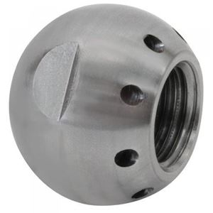 """Picture of Suttner ST-49 """"Grease Ball"""" Sewer Nozzle 1/4"""", # 8.0, 8 Back 7,252 PSI"""