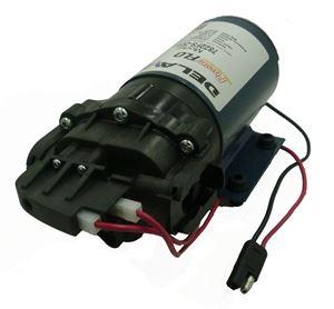 "Picture of Delavan Diaphragm Flex Pump 12 V, 60 PSI, 2.2 GPM, 3/4"" QA Ports I-Series"