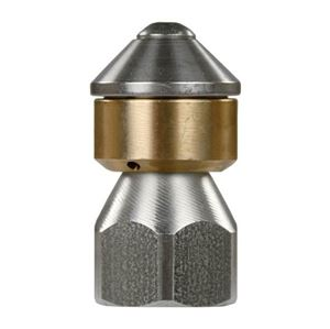 "Picture of Suttner ST-49 Rotating Sewer Nozzle 3/8"", # 10.0"