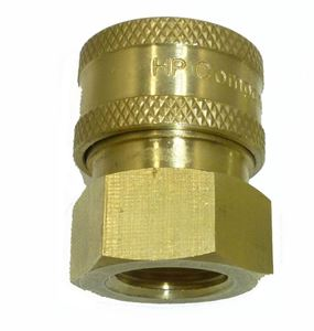 Picture of 1/4 FPT Quick Coupler Socket, Brass