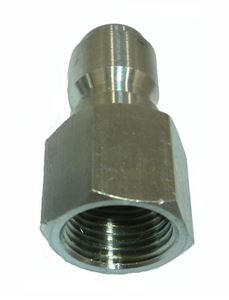 Picture of 1/4 FPT Quick Coupler Plug, Stainless Steel