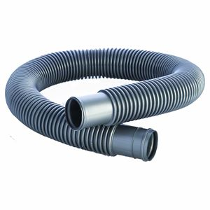 "Picture of 1-1/2"" x 3' HCP Blow Molded Pool Filter Connection Hose, Silver"