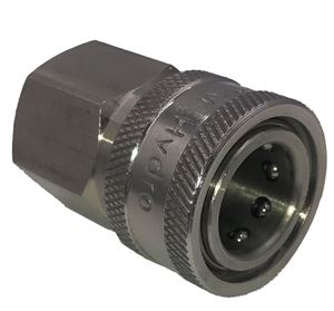 Picture of 1/2 FPT Quick Coupler Socket, Stainless Steel