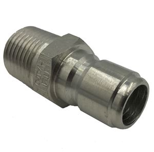 Picture of 1/2 MPT Quick Coupler Plug, Stainless Steel