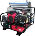 Picture of 4,000 PSI Hot Water Pressure Washer 5.5 GPM General, Honda, 115V Burner