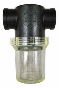 "Picture of Clear Line Filter / Strainer 1"" FPT, 40 Mesh"