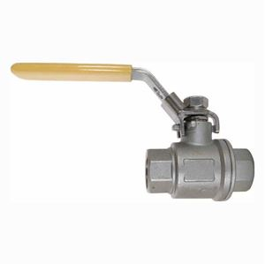 "Picture of 1"" Stainless Steel Ball Valve 1000 PSI, F x F"