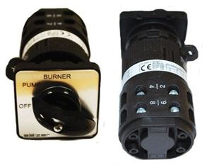 "Picture of On/Off/Burner Cam Switch 220V, 30A, 1PH. 2.5"" FP"