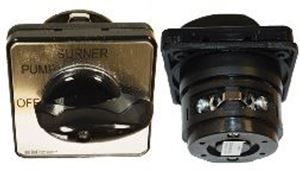 "Picture of On/Off/Burner Cam Switch 220V, 20A, 1PH. 1-7/8"" FP"
