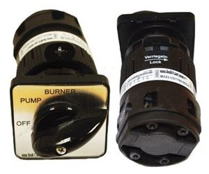 "Picture of On/Off/Burner Cam Switch 110V, 20A, 1PH. 1-7/8"" FP"
