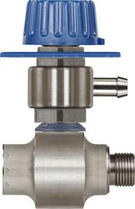 Picture of Suttner ST-160M Stainless Single Chemical Injector w/Metering Valve, #8.0, 3/8""
