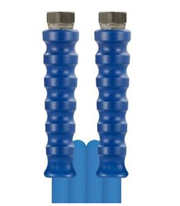 "Picture of 65' Blufood® Hose SS Fittings, 725 PSI, 158° F, 1/2"" F x  F, Food Grade"