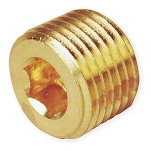 Picture of 1/2 Allen Head Plug Brass