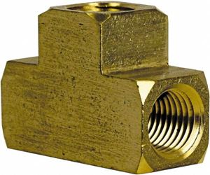 Picture of 1/2 FPT Tee Brass