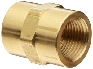 Picture of 1/4 F x F Coupling Brass
