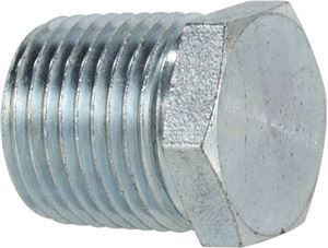 Picture of 3/4 MPT Hex Plug Steel 5,000 PSI