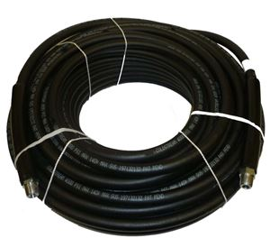 """Picture of CLEANSTREAM 4,000 PSI 5/16"""" x 100' Black Non-Marring Hose"""