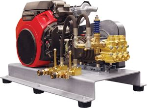 Picture of 3500PSI Truck Mount Pressure Washer 5.5GPM AR, GX690 Honda E/S
