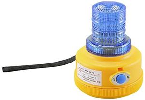 Picture of Blue LED 4-Function Personal Safety Warning Light w/Magnetic Mount, Battery Operated