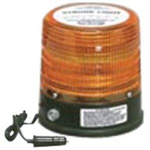 Picture of Amber 12V Towing Strobe Light Kit w/ Magnetic Base, Battery & Charger
