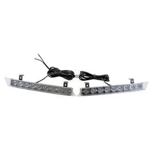 Picture of 12V Clear LED High Power Curved Grill Lights