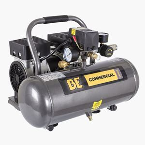 Picture of 2 Gallon Oil Free Air Compressor, 3/4HP, 120V, 2.3 CFM @ 90 PSI