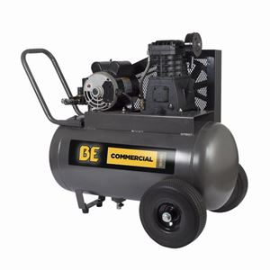 Picture of 20 Gallon Horizontal Air Compressor,3 HP, 120V, 5.7 CFM @ 90 PSI