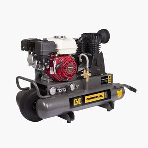 Picture of 8 Gallon Wheeled Air Compressor, Honda GX200, 12.7 CFM @ 100 PSI