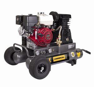 Picture of 8 Gallon Wheeled Air Compressor, Honda GX270, 18.5 CFM @ 100 PSI