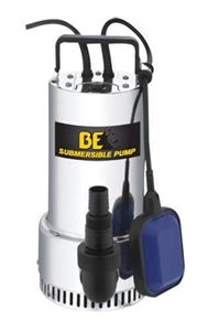 "Picture of 3434 GPH 1 HP 1.5"" Side Discharge Submersible Pump with Float"