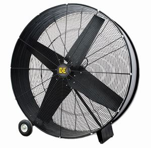 "Picture of 42"" Direct Drive Drum Fan 1/2 HP 15,400 CFM 2 Speed"