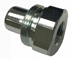 "Picture of 3/8"" FPT High Pressure Coupling Series ""W"" Plug 10,000 PSI"