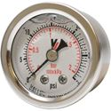 "Picture of 30 PSI Back Mount 1-1/2"" SS Pressure Gauge"