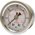 "Picture of 60 PSI Back Mount 1-1/2"" SS Pressure Gauge"