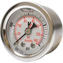"Picture of 2,000 PSI Back Mount 1-1/2"" SS Pressure Gauge"
