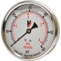 "Picture of 60 PSI Back Mount 4"" SS Pressure Gauge"