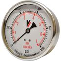"Picture of 100 PSI Back Mount 4"" SS Pressure Gauge"