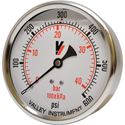 "Picture of 600 PSI Back Mount 4"" SS Pressure Gauge"