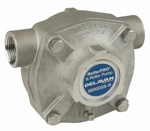 Picture of 8 Roller Pump - Delavan, 150 PSI, 24.0 GPM, DSS, CW