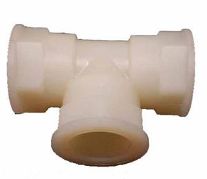 Picture of 1/2 FPT x 1/2 FPT x 1/2 FPT Tee Nylon