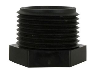 Picture of 1 MPT Hex Plug Poly