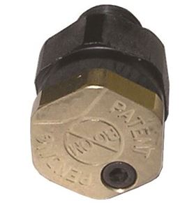 Picture of No Boom Nozzle Left Spray 088 Brass Cap & Polypro Body