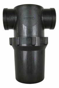 "Picture of Black Line Filter / Strainer 1"" FPT, 40 Mesh"