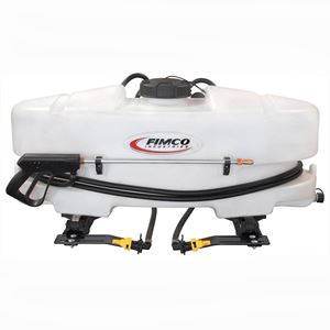 ATV Sprayer, 25 Gallon, 3 8 GPM, 45 PSI, 12 V (LG-25-BL-QR)